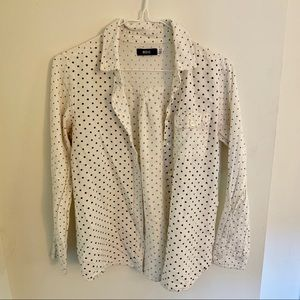 Polka dot button down shirt from Urban Outfitters